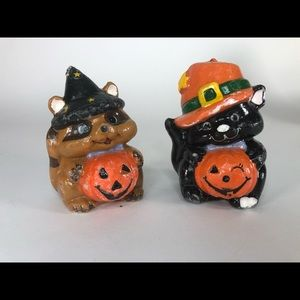 """Vintage NWOT Halloween Candles 5"""" tall"""